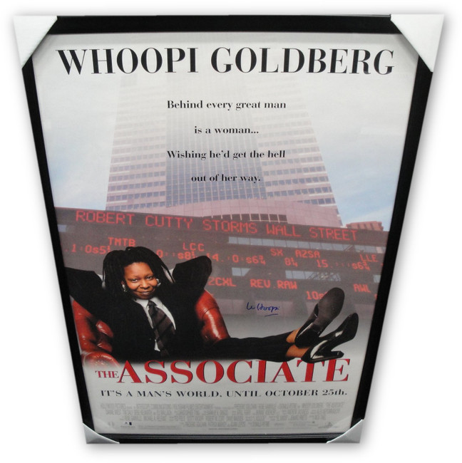 Whoopi Goldberg Huge Autographed  Movie Poster The Associate Framed GV852260