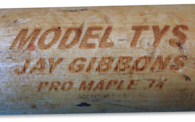 Jay Gibbons Game Used MAX Bat Pro Model Broken LA Dodgers 09/11/2010 FJ034978