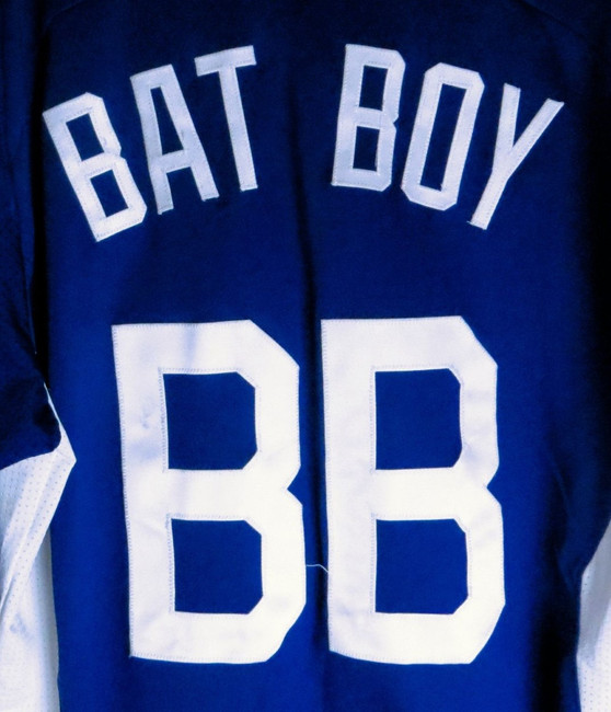 Bat Boy Team Issue Batting Practice Jersey Los Angeles Dodgers #BB Size 40