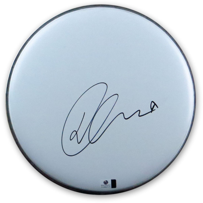 "Demi Lovato Signed Autographed 10"" Drumhead Pop Superstar Black Ink GV862575"