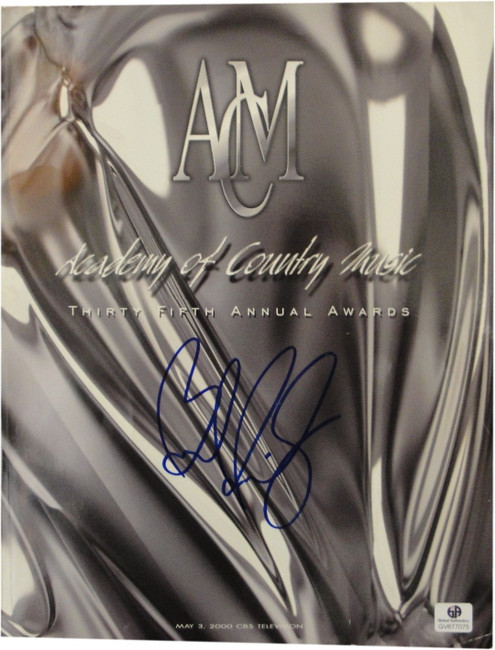 Brad Paisley + She Daisy Band Hand Signed Country Music Award Program GA 677075