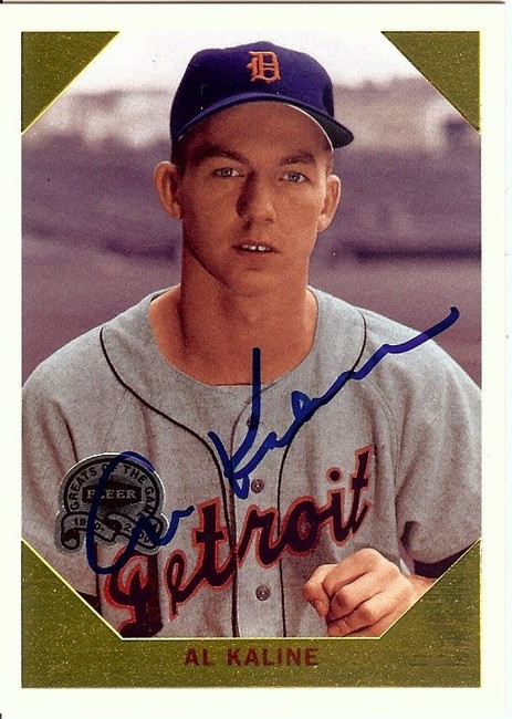 Al Kaline Signed Autographed Baseball Card 2000 Greats Retrospection #6 GV862286