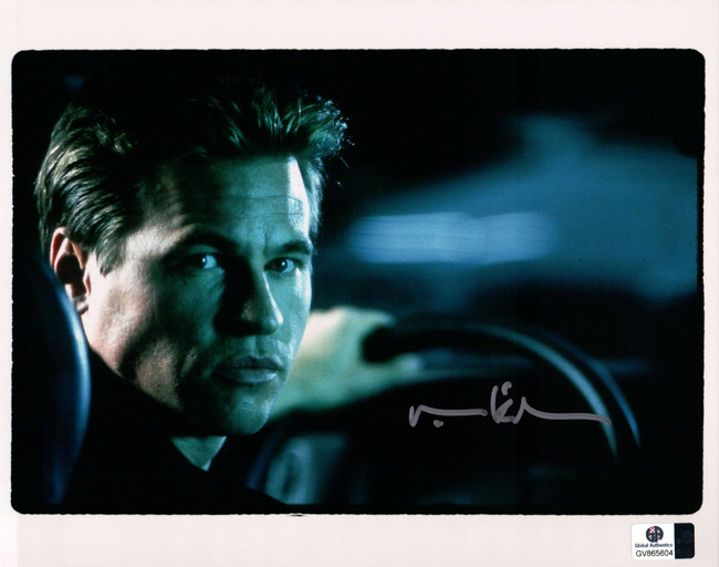 Val Kilmer Signed Autographed 8X10 Photo Sexy Behind the Wheel GA COA