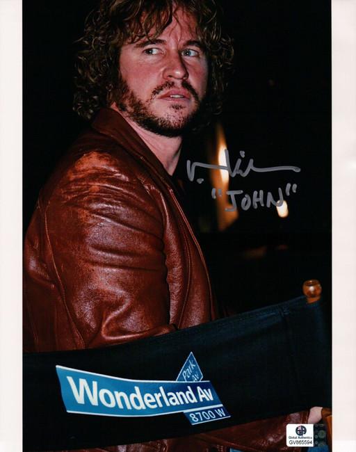 "Val Kilmer Signed Autographed 8X10 Photo Wonderland John Holmes ""John"" GA COA"