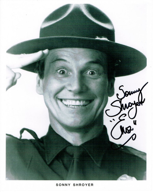 Sonny Shroyer  Hand Signed Autographed 8x10 Photo The Dukes Of Hazard Enos