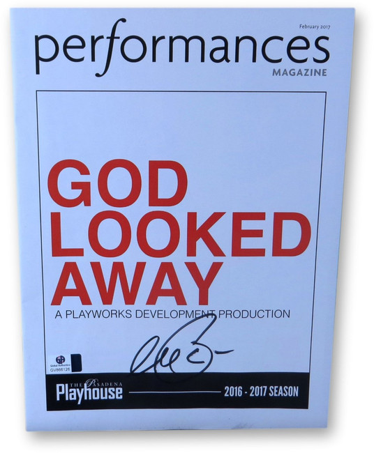 Al Pacino Signed Autographed Play Program God Looked Away GV866126