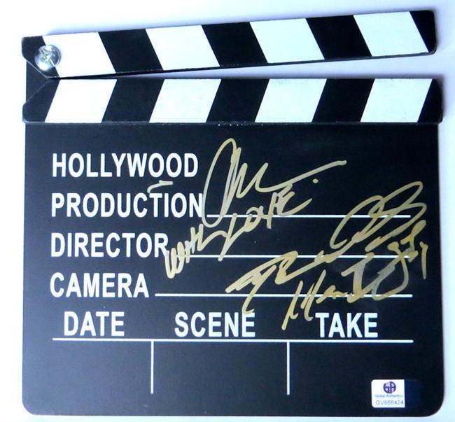 Albert Hughes Darin Scott Signed Autographed Movie Clapper Producers GV866424