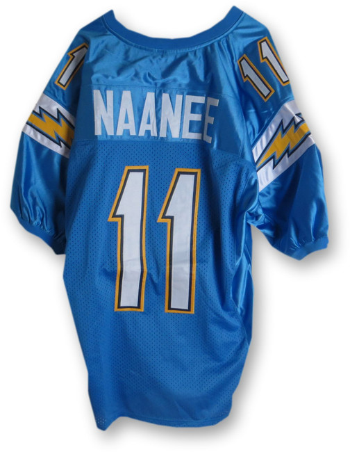Legedu Naanee Unsigned Jersey San Diego Chargers Powder Blue
