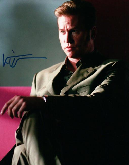Val Kilmer Signed Autographed 8X10 Photo Kiss Kiss Bang Bang Sitting JSA