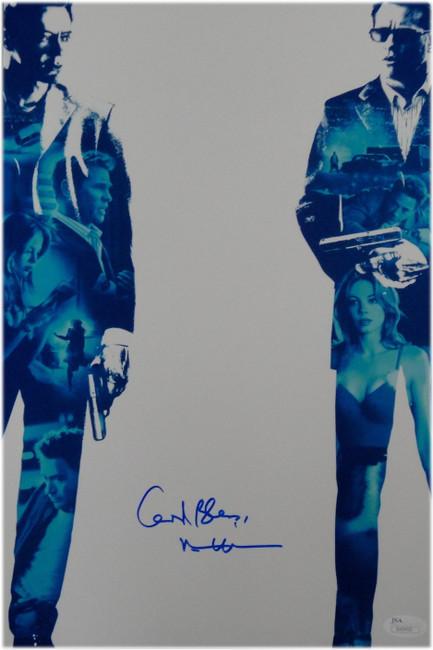 Val Kilmer Hand Signed Autographed 10x15 Photo Kiss Kiss Bang Bang God Bless JSA