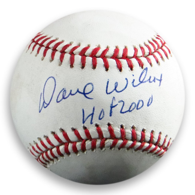 Dave Wilcox Signed Autographed MLB Baseball San Francisco 49ers COA