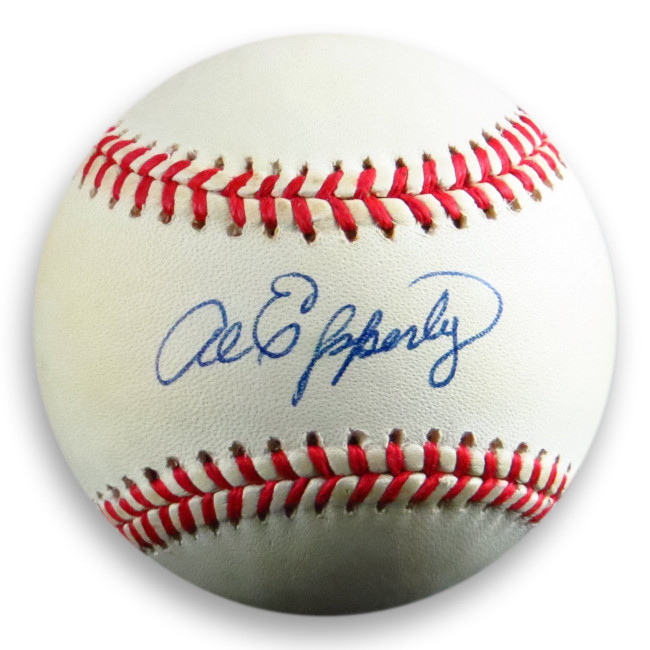 Al Epperly Signed Autographed Official NL Baseball Brooklyn Dodgers COA