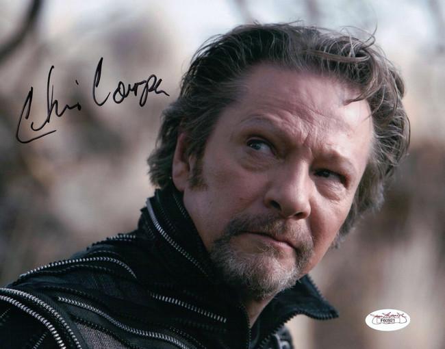 Chris Cooper Signed Autographed 8X10 Photo The Tempest Close-Up JSA F60921