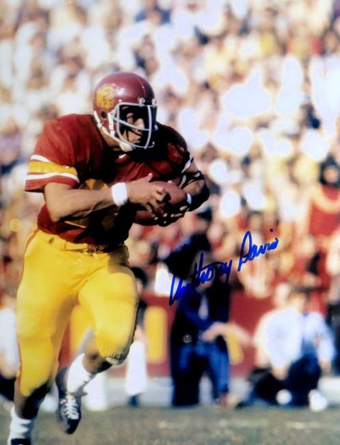 Anthony Davis Autographed 11X14 Photo USC Trojans Legend Running Action w/COA