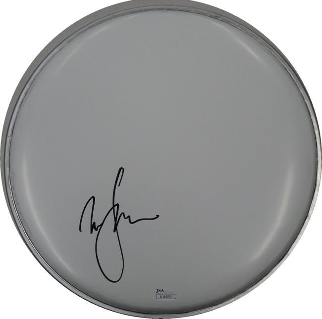 David Johanson Hand Signed Auto Drum head Drumhead JSA U16553