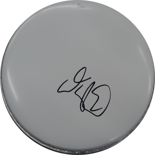 Adam Sandler Hand Signed Auto Drum head Drumhead Actor Musician Comedy JSA 07899