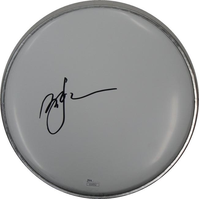 David Johanson Hand Signed Auto Drum head Drumhead JSA U16552