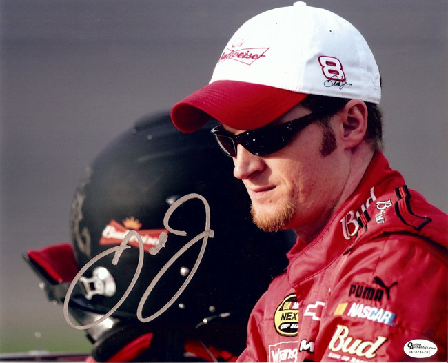 Dale Earnhardt Jr. Signed Autographed 8X10 Photo Close-Up with Hat OA 8284294