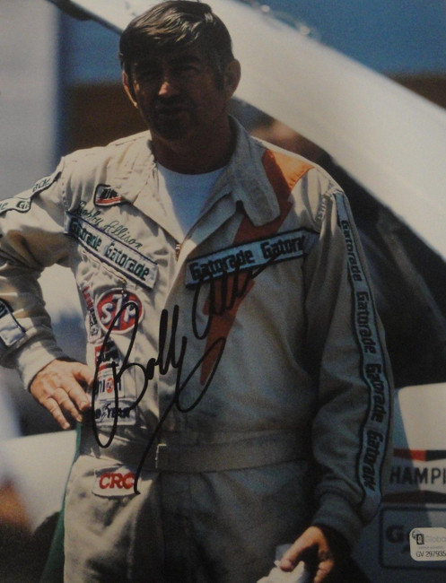 Bobby Allison Hand Signed Autographed 8x10 Photo #12 Miller GV GA 297935