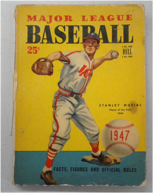(5) 1947-1948-1950-1953 Vintage Baseball Books Stan(Stanley)Musial Ted Williams