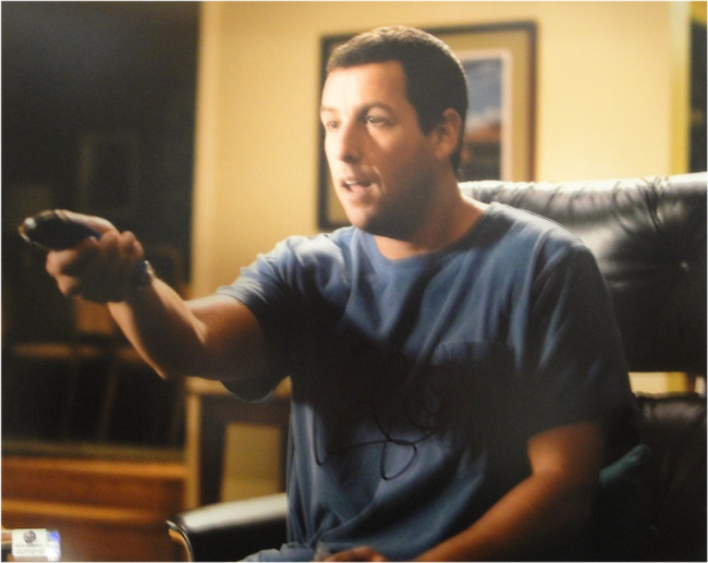 Adam Sandler Signed Autographed 11X14 Photo Click Happy Gilmore Remote GA774710