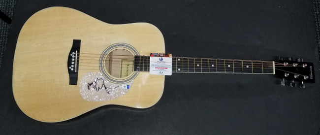 Billy Ray Cyrus Hand Signed Autographed Acoustic Guitar Country Star GA 876965