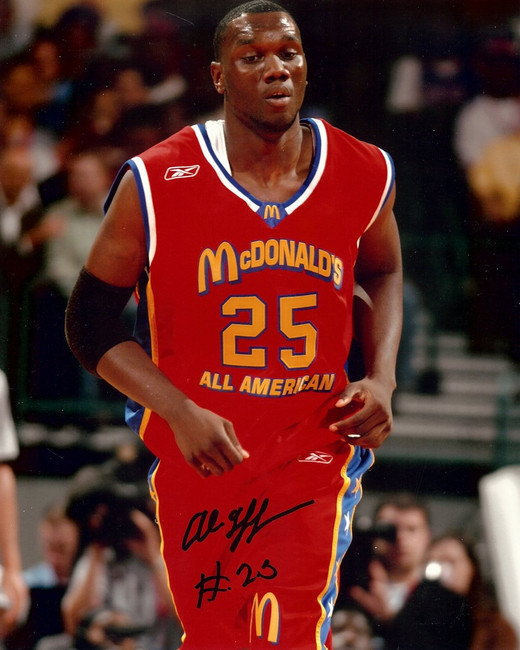 Al Jefferson Signed Autographed 8X10 Photo Celtics McDonalds All-American w/COA