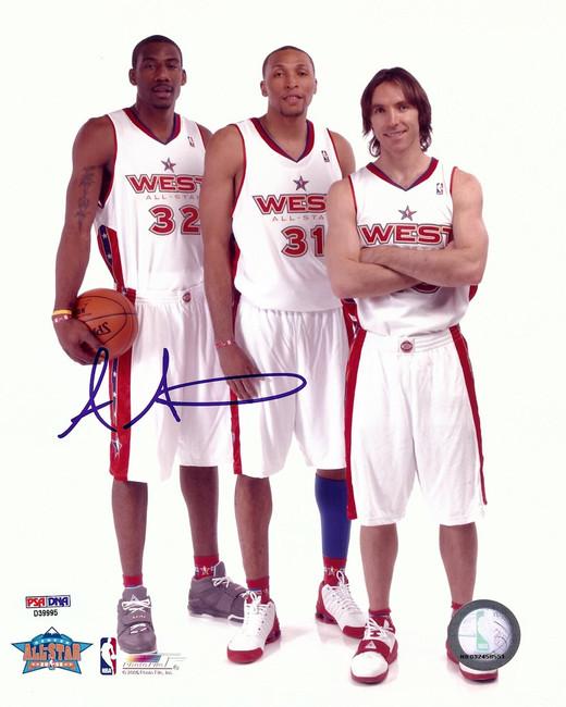 Amare Stoudemire Signed Autographed 8X10 Photo All-Star Phoenix Suns PSA/DNA