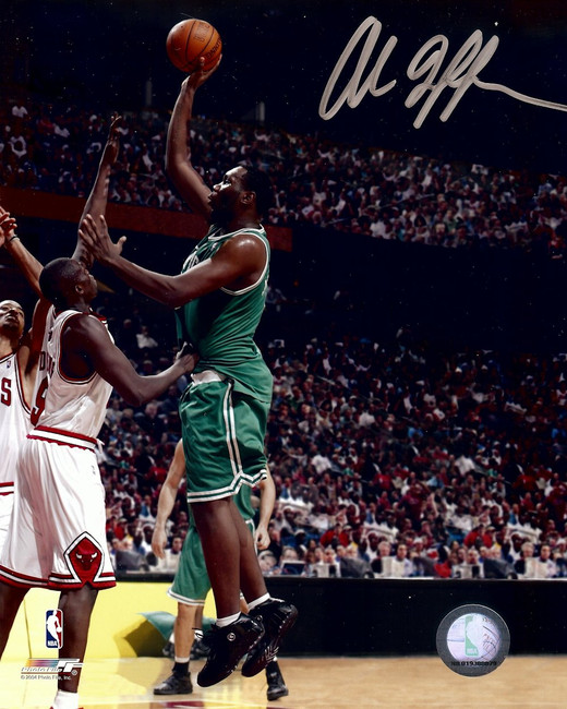Al Jefferson Signed Autographed 8X10 Photo Celtics Shooting vs. Bulls w/COA