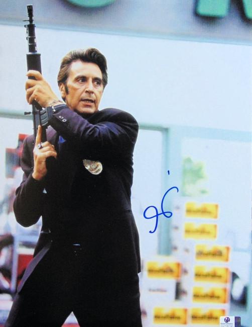 Al Pacino Signed Autographed 11X14 Photo Heat Vincent Hanna w/Gun GV706790
