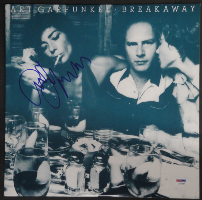 Art Garfunkle Hand Signed Vintage Autographed Record Album  Breakaway PSA L10497