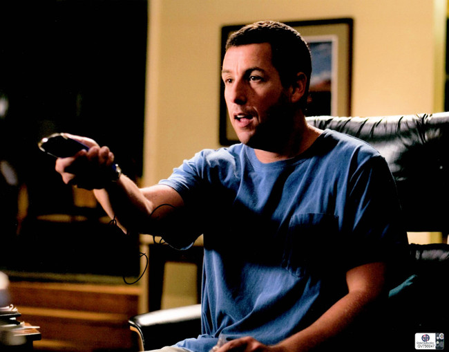 Adam Sandler Signed Autographed 11X14 Photo Click on Couch w/Remote GV756047