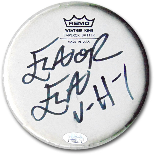 "Flavor Flav Signed Autographed 6"" Remo Drumhead Public Enemy ""VH1"" JSA CC77010"