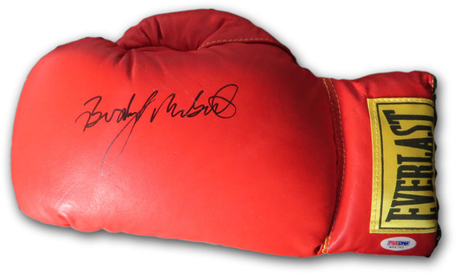 Buddy McGirt Signed Autographed Everlast Boxing Glove  PSA/DNA M58762