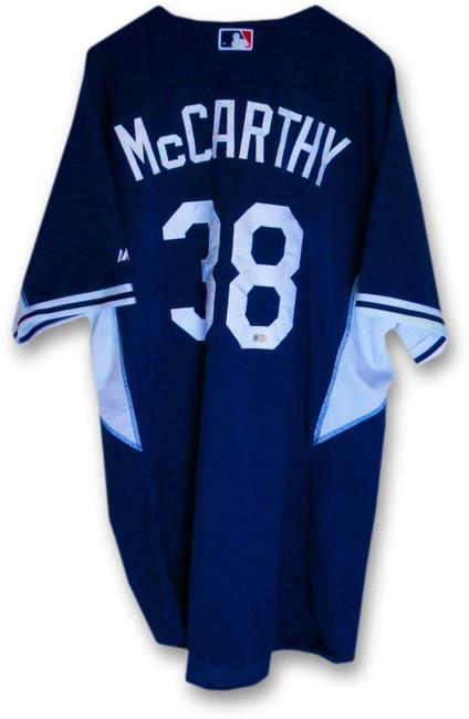 Brandon McCarthy LA Dodgers Team Issue Batting Practice Jersey #38 MLB JB085133