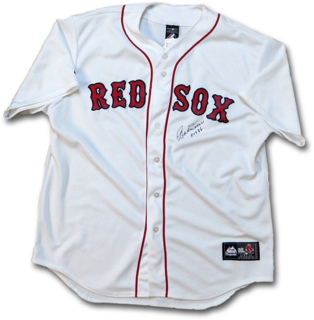 """Bobby Doerr Signed Autographed Jersey White Boston Red Sox """"HOF 86"""" PSA Y25305"""