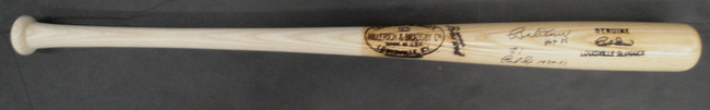 Bobby Doerr Hand Signed Autographed Baseball Game Model Bat Ordered By Doerr PSA