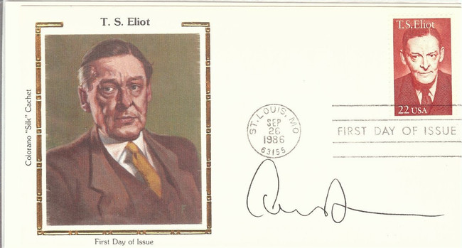 Edward Albee Signed Autographed 1st Day Issue Cachet Pulitzer Prize PSA M58714