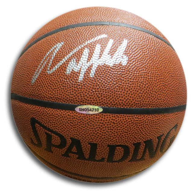 Aaron Afflalo Signed Autographed Spalding Basketball Knicks UCLA UDA SHO54710
