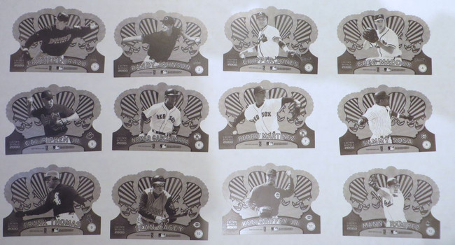 2000 Pacific Crown Royale Proof Complete Set (36) Griffey Jeter Sosa McGwire