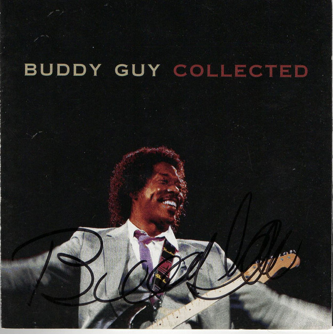 Buddy Guy Signed Autographed CD Booklet Collected PSA T72152