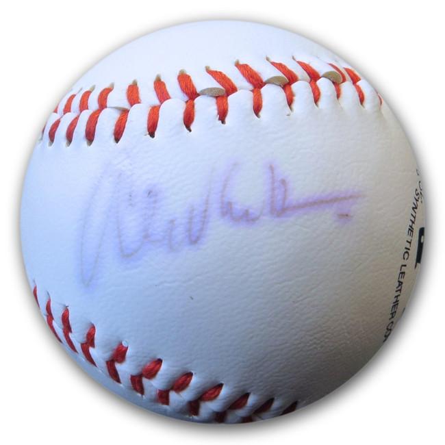 Alex Van Halen Signed Autograph Rawlings Baseball Van Halen Drummer JSA FF06281