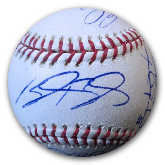 2012 San Diego Padres Team Signed Autographed MLB Baseball Hudson Venable COA