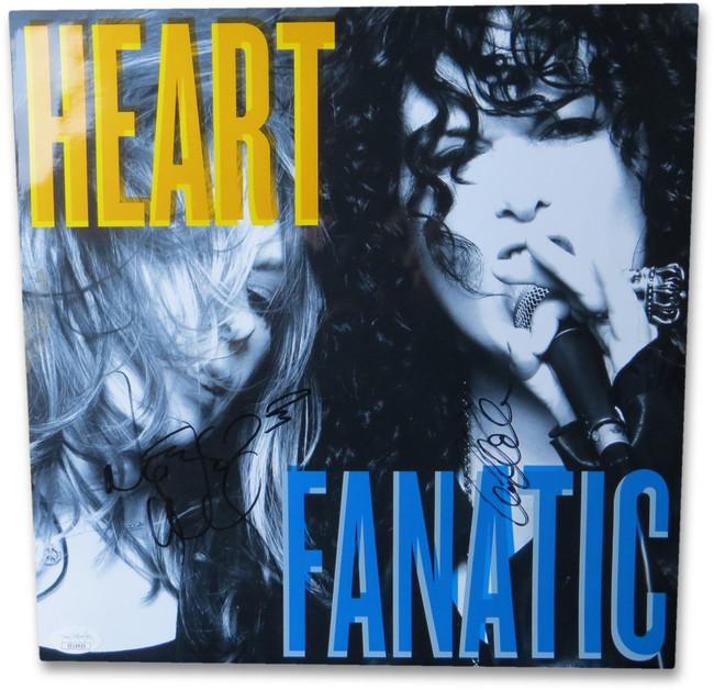 Ann & Nancy Wilson Signed Autographed 12X12 Photo Heart Fanatic JSA EE19925
