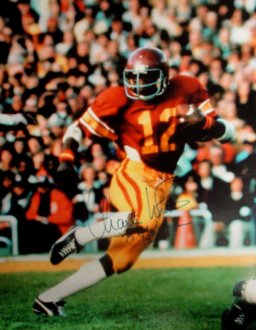 Charles White Hand Signed Autograph 16x20 Photo Sports Illustrated Heisman Pose