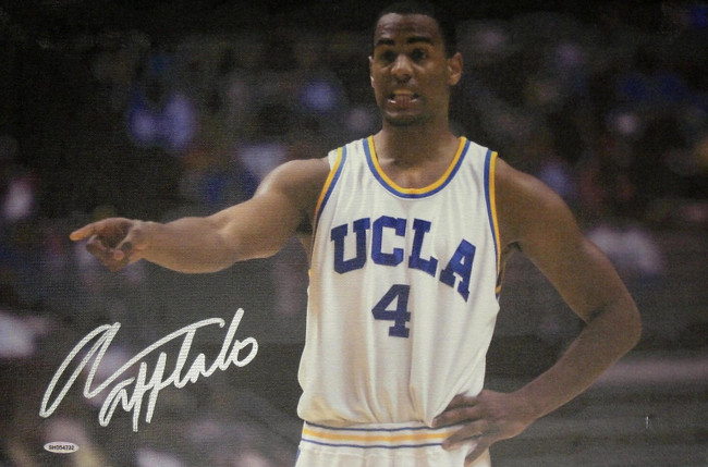 Arron Afflalo Hand Signed Autographed 22x32 Stretched Canvas UCLA Bruins UDA
