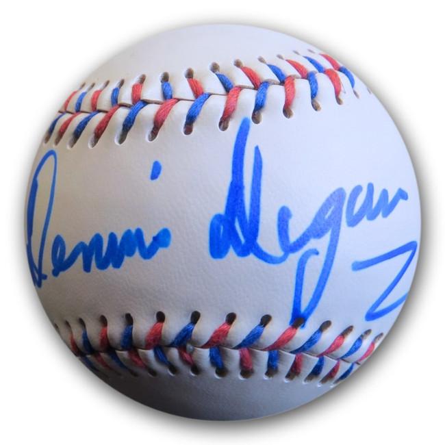 Dennis Dugan Signed Autograph Easton Baseball Director Happy Gilmore PSA AF71813