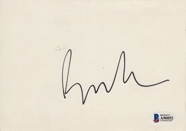Beck Signed Autographed 5X7 Postcard Rock Legend BAS A96052