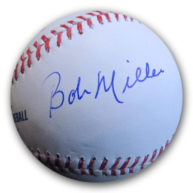 Bob Miller Signed Autographed MLB Baseball Kings HOF Broadcaster GV814204