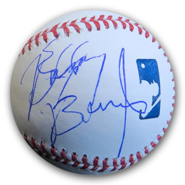 Bobby Brown Signed Autographed MLB Baseball New Edition GV814203